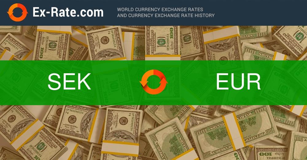 umrechner schwedische kronen euro
